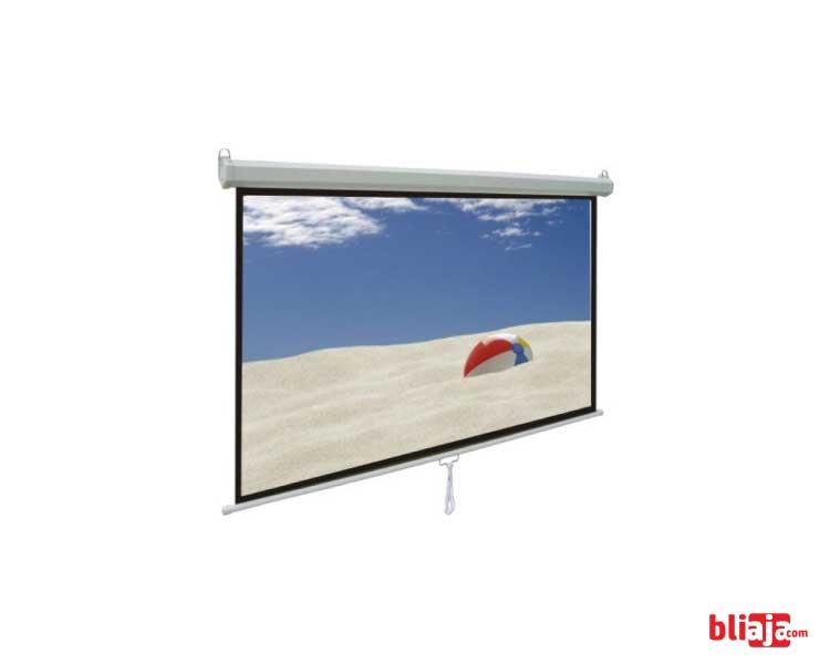 World screen motorized 200 inch 4:3