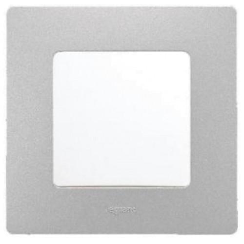 Legrand Niloe - 1 Gang - White Plate Dinding Inbow