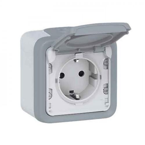 Legrand Sockets Plexo IP55 IK07 StopKontak Dinding Outbow Weatherproof