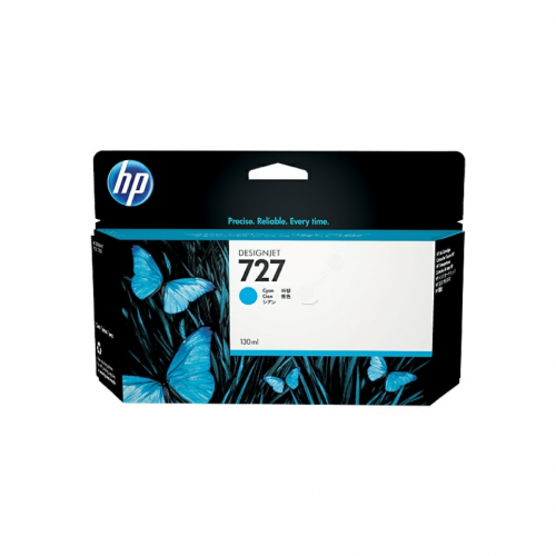 HP 727 Designjet Ink Cartridge - 300 ml Cyan