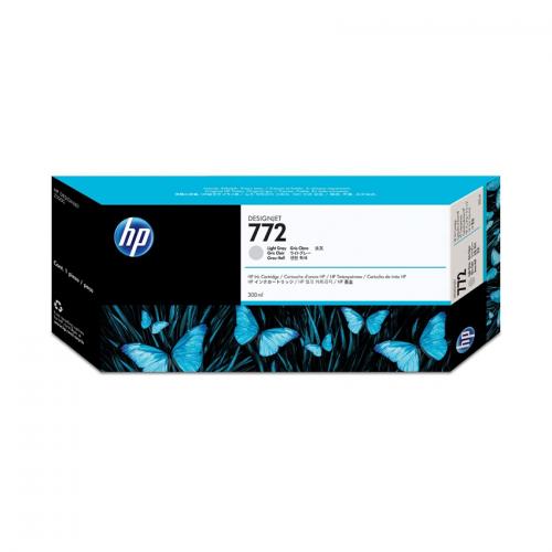 HP 772 Designjet Ink Cartridge - 300 ml Light Gray