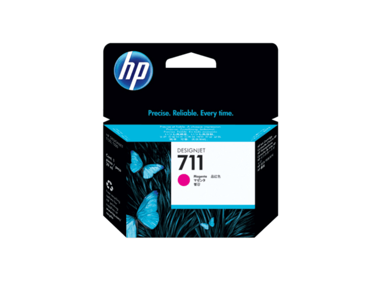 HP 711 Designjet Ink Cartridge - 29 ml Magenta