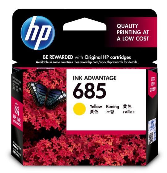 HP 685 Yellow Ink Cartridge