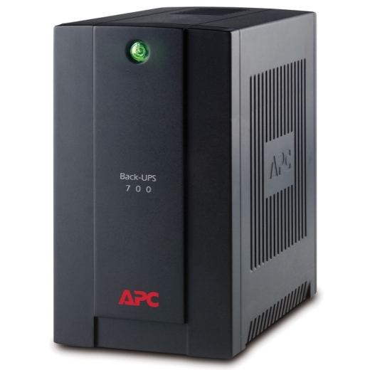 APC Back-UPS 700VA, 230V, AVR, Universal and IEC Sockets