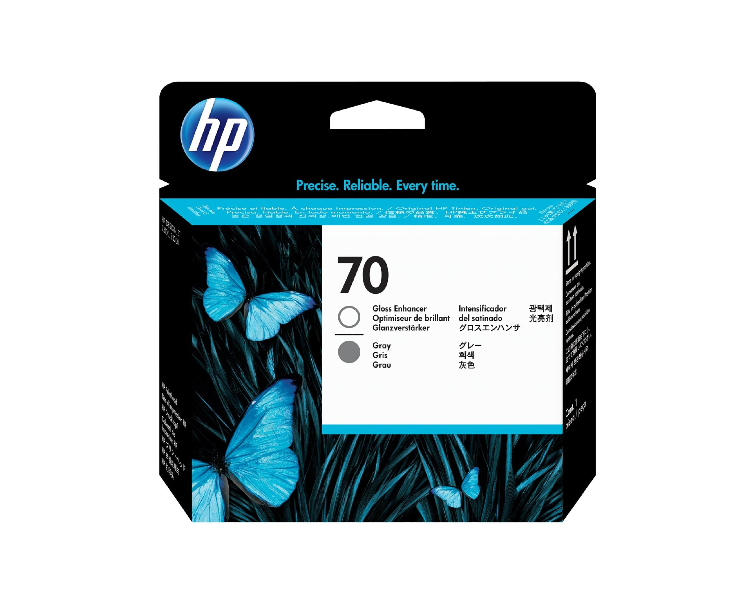 HP 70 DesignJet Printhead - Gloss Enhancer & Gray
