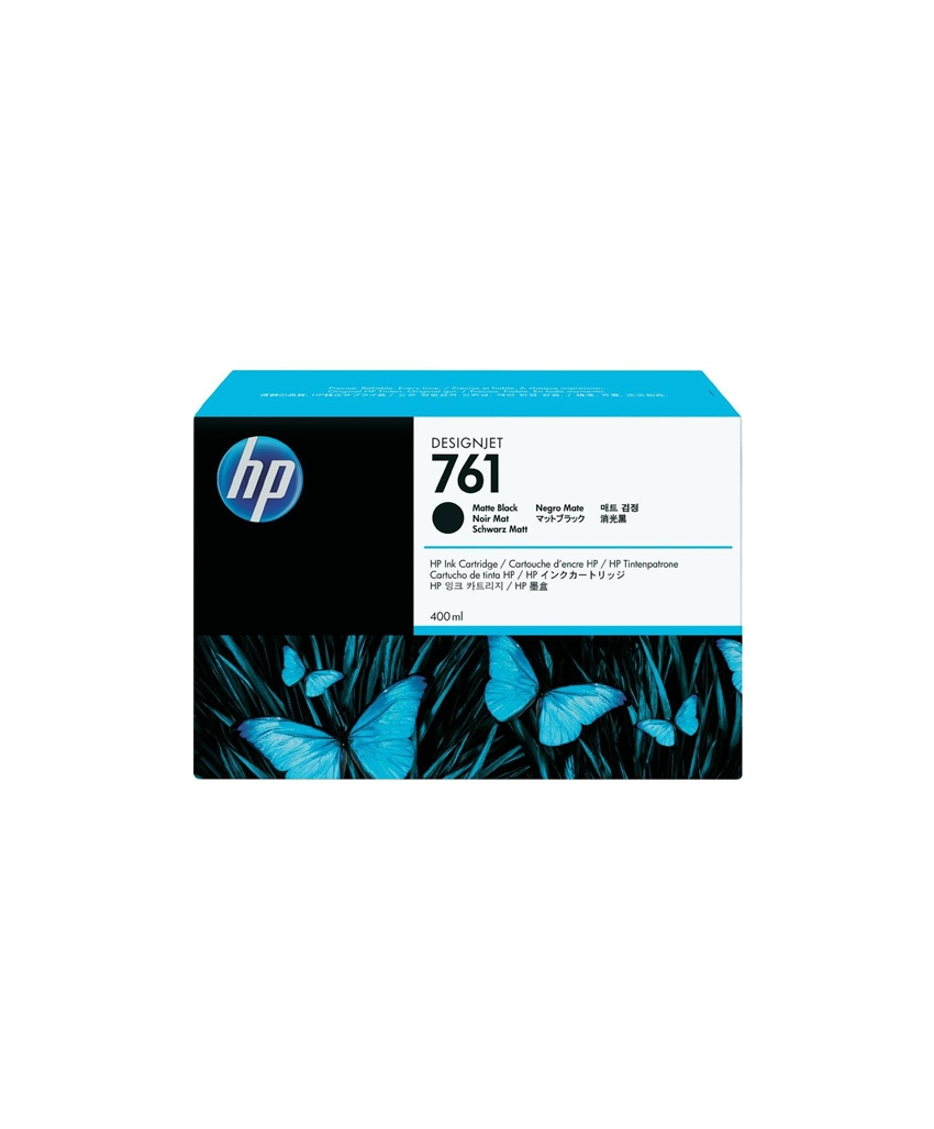 HP 761 Designjet Ink Cartridge - 400 ml Matte Black