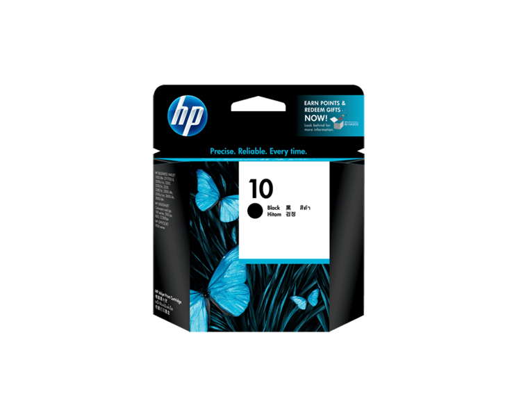 HP 10 Designjet Ink Cartridge - Black