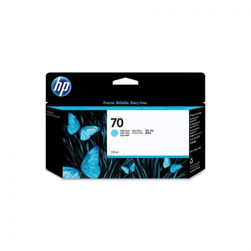 HP 70 Light Cyan 130 ml Ink Cartridge