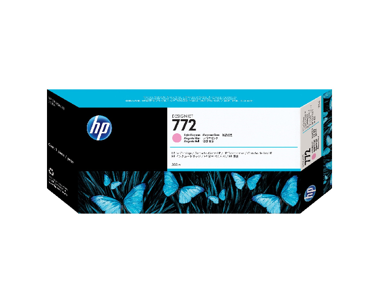 HP 772 Designjet Ink Cartridge - 300 ml Light Magenta