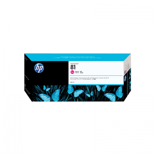 HP 81 DesignJet Ink Cartridge - 680 ml Magenta