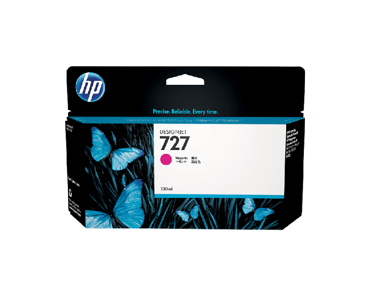 HP 727 Designjet Ink Cartridge - 130 ml Cyan