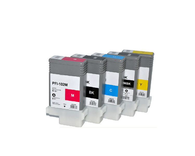Canon PFI-8007 Yellow Ink Cartridge 130ml