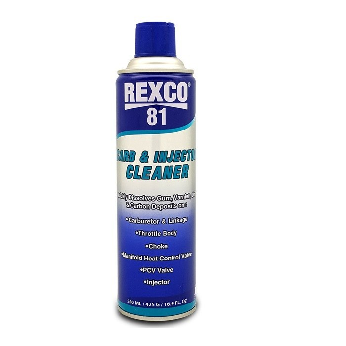 Rexco 81 - 500 ml Carburator dan Injection Cleaner