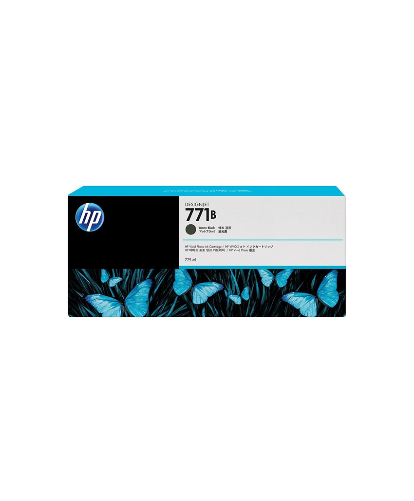 HP 771B Designjet Ink Cartridge - 775 ml Matte Black