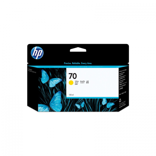 HP 70 Yellow 130 ml Ink Cartridge