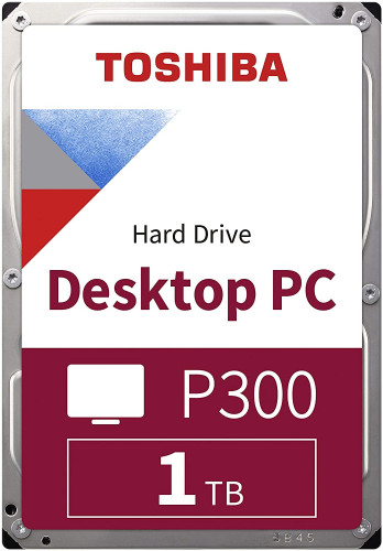 Toshiba Desktop PC HD 1TB 3.5 SATA 3 7200 RPM HDD