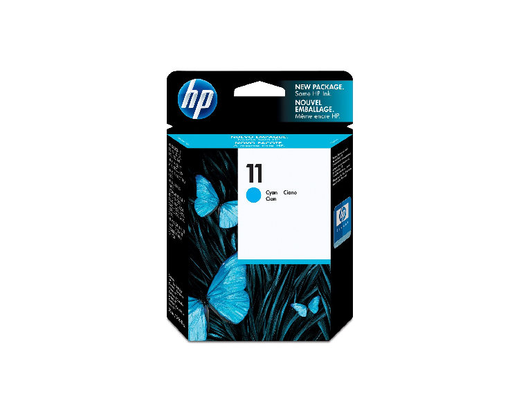 HP 11 Designjet Ink Cartridge - Cyan