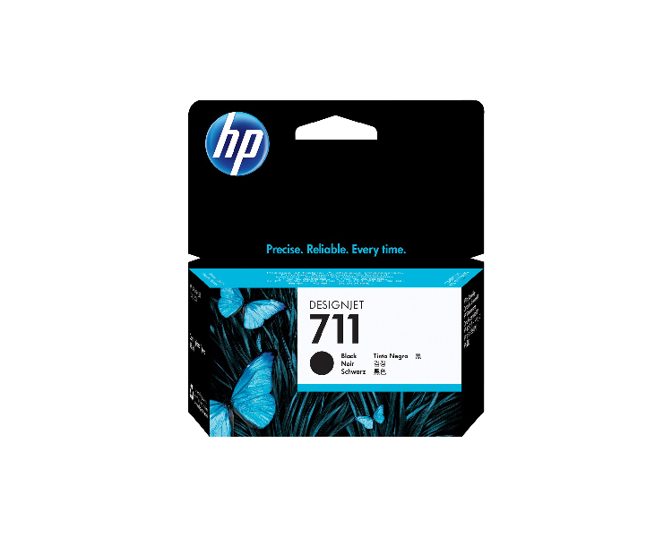 HP 711 Designjet Ink Cartridge - 38 ml Black