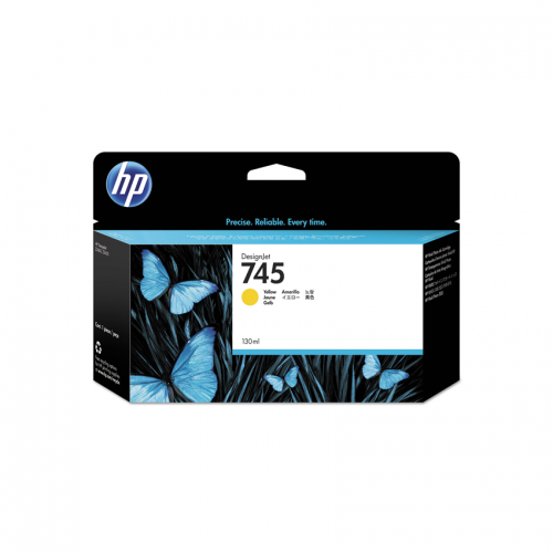 HP 745 Designjet Ink Cartridge - 130 ml Yellow