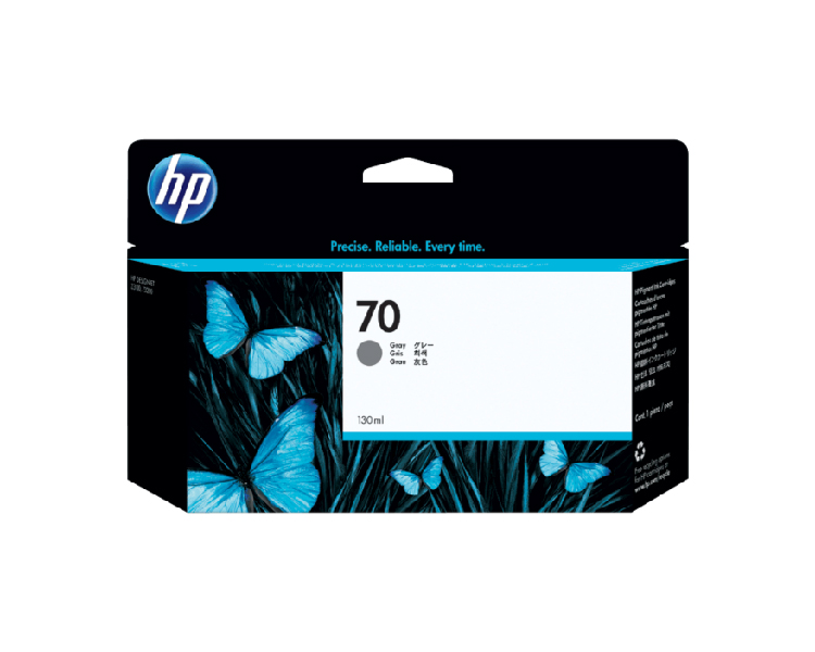 HP 70 Gray 130 ml Ink Cartridge