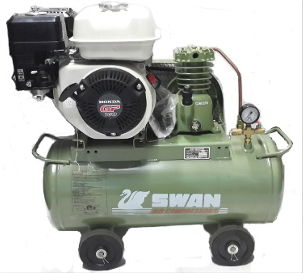 Swan 1/4HP - Honda 5.5HP GP Compressor Belt Engine