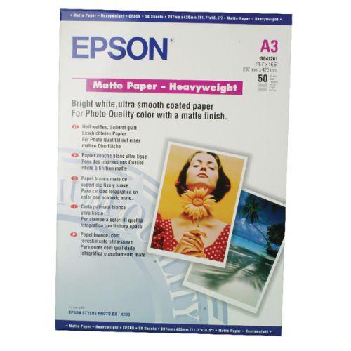 Epson Matte Paper Heavyweight A3