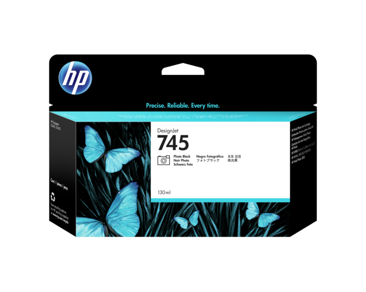 HP 745 Designjet Ink Cartridge - 130 ml Photo Black