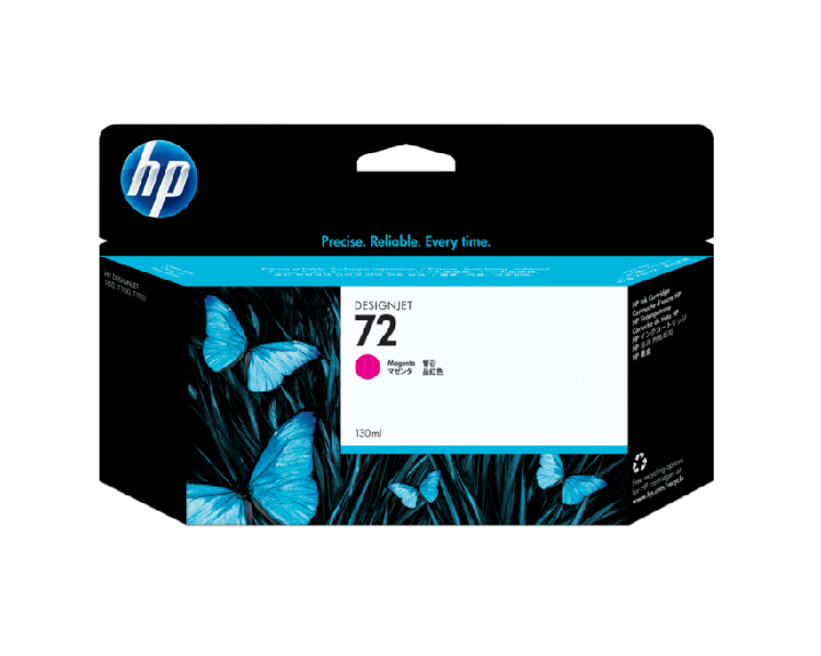 HP 72 Designjet Ink Cartridge - 130 ml Magenta