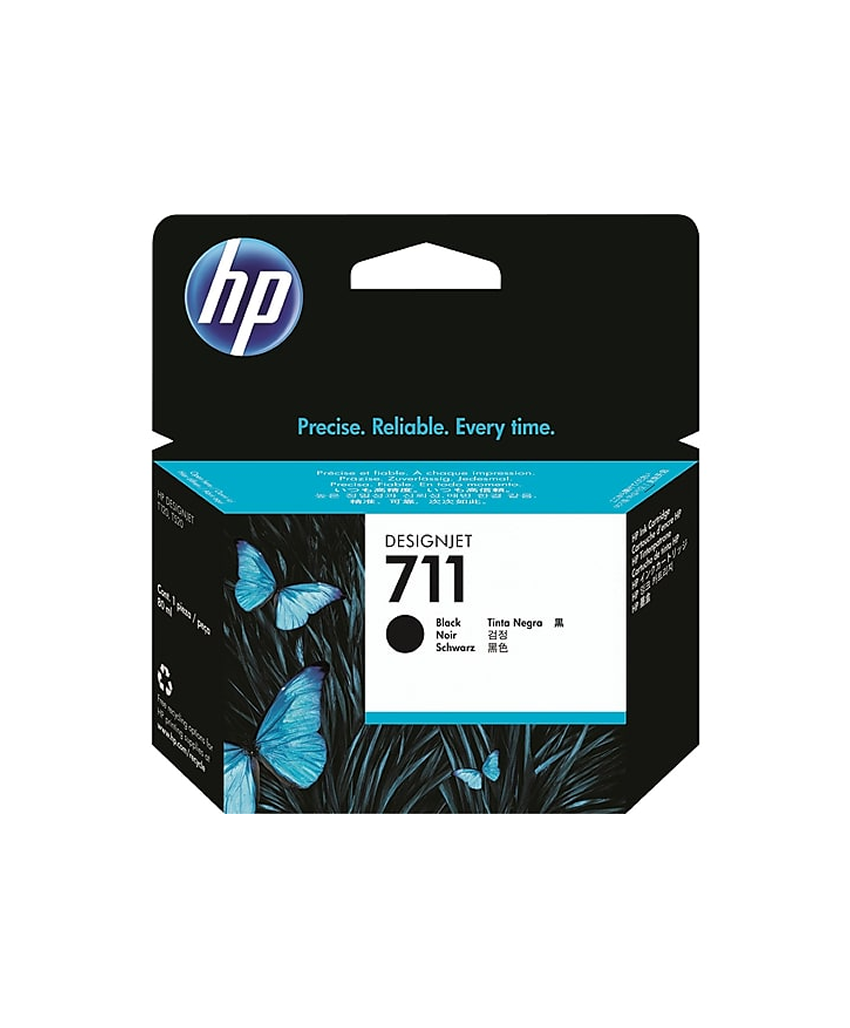 HP 711 Designjet Ink Cartridge - 80 ml Black