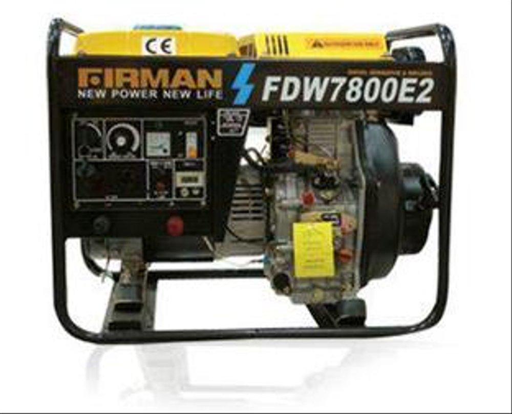 Firman FDW7800E2 - 160A Mesin Las Generator Diesel
