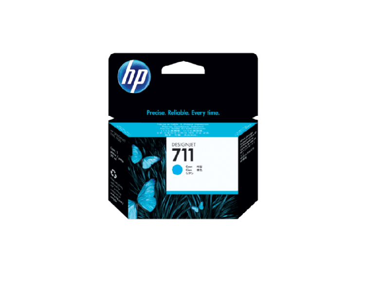 HP 711 Designjet Ink Cartridge - 29 ml Cyan