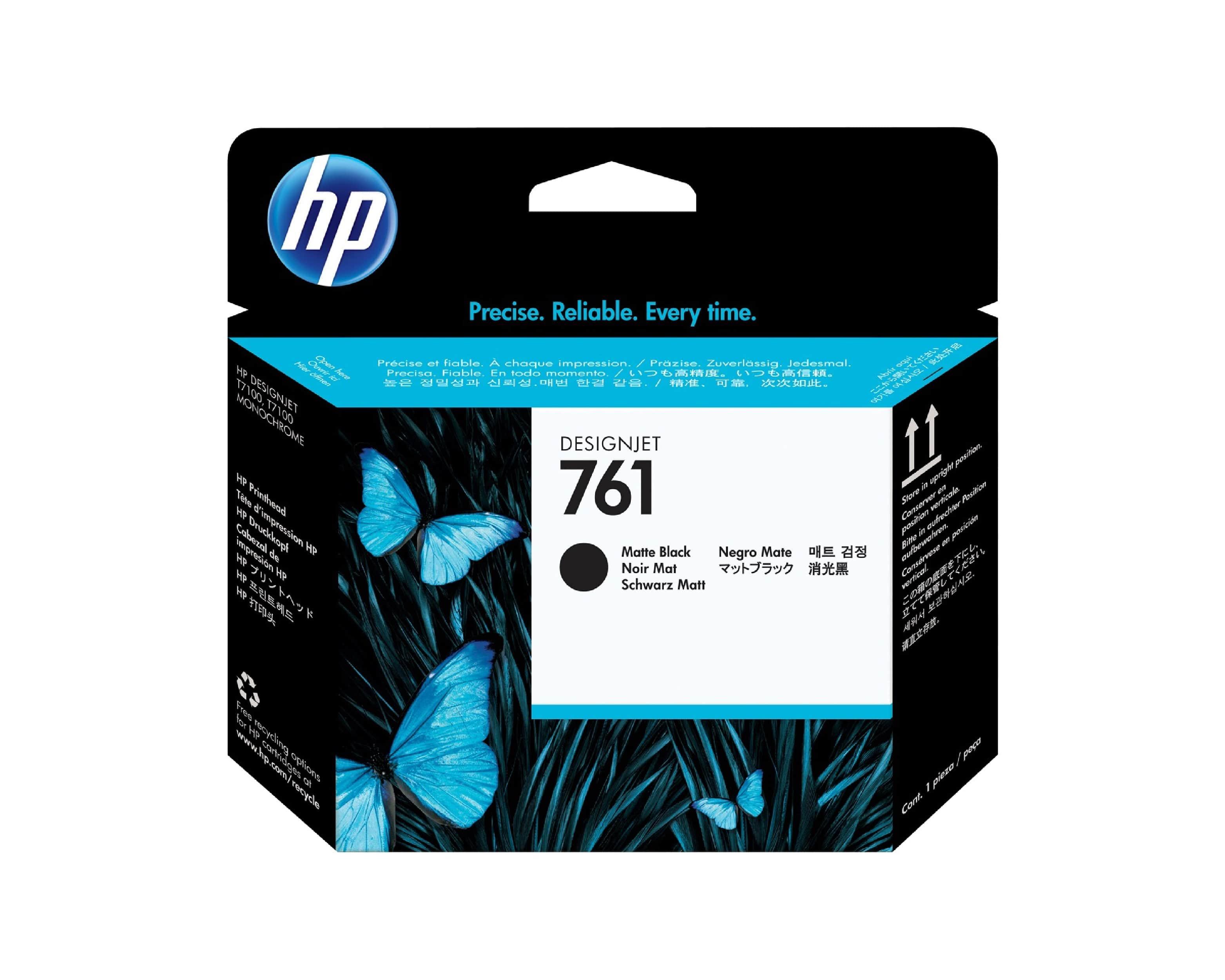 HP 761 DesignJet Printhead - Matte Black