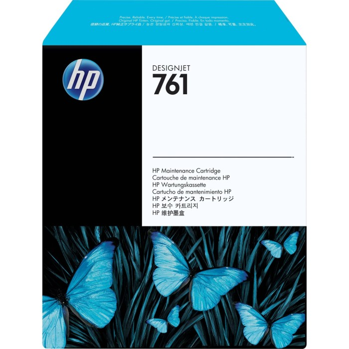 HP 761 DesignJet Maintenance -  Yellow