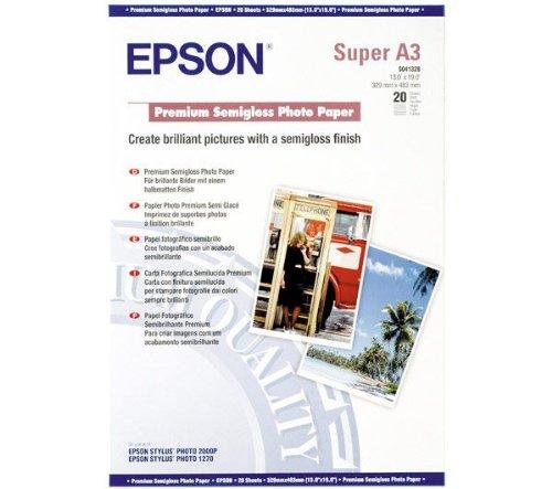 Epson Premium Semi Gloss Photo Paper A3 Plus