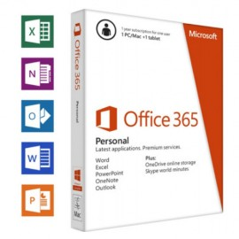 Office 365 Personal 32 64 All Lng Sub PKLic 1YR Online APAC EM C2R NR