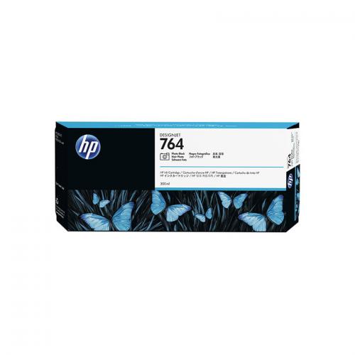 HP 764 Designjet Ink Cartridge - 300 ml Photo Black