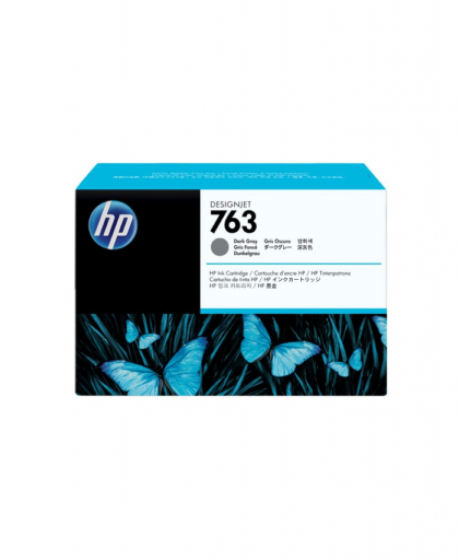 HP 763 Designjet Ink Cartridge 775ml Dark Gray