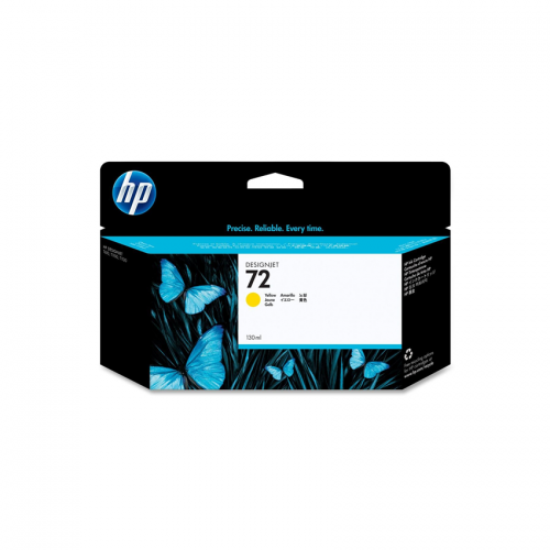 HP 72 Designjet Ink Cartridge - 130 ml Yellow