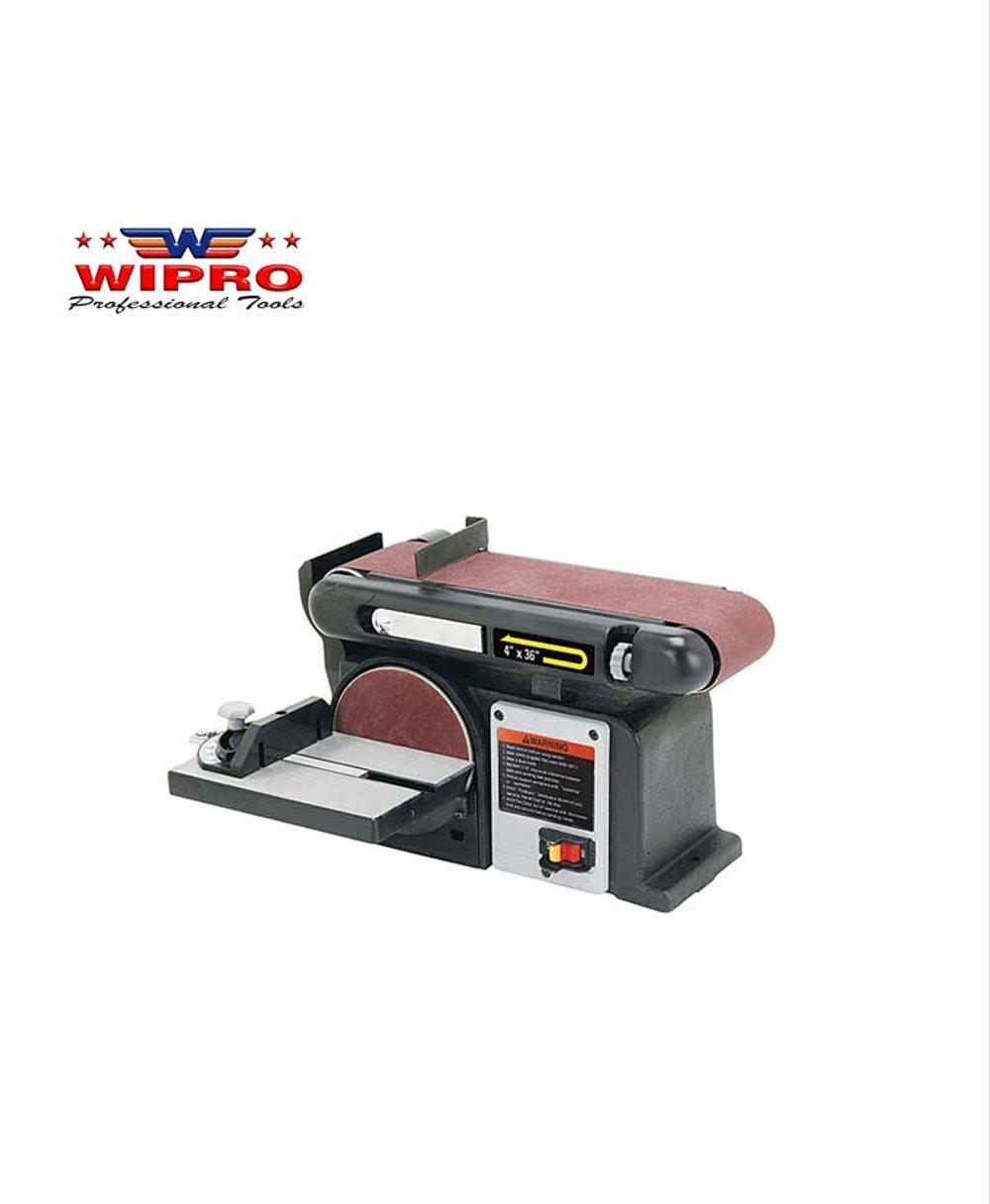 "Wipro 491D Mesin Amplas Belt duduk 4"" x 6"""