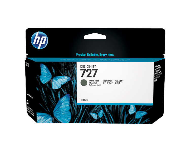 HP 727 Designjet Ink Cartridge 130 ml Matte Black