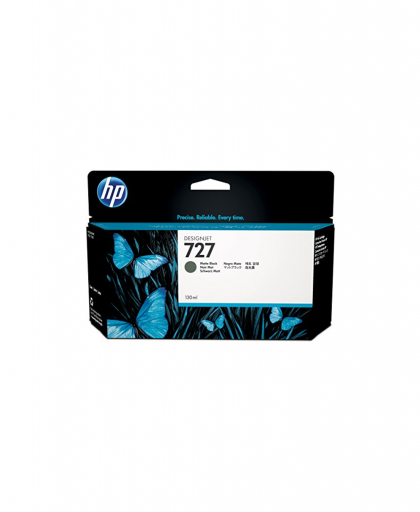 HP 727 Designjet Ink Cartridge - 130 ml Matte Black