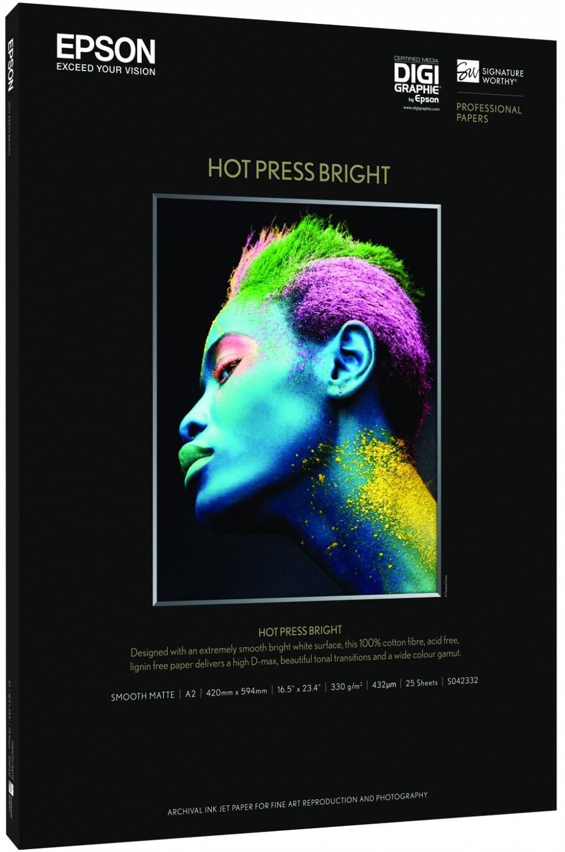 Epson Hot Press Bright A3 Plus