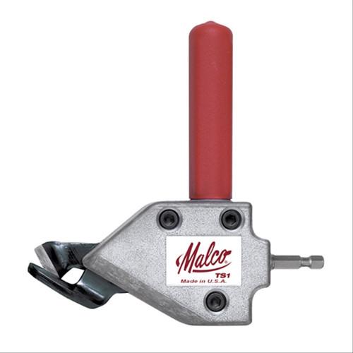 Malco Turbo Shear - TS1 Gunting Plat Besi Attachment untuk Mesin Bor