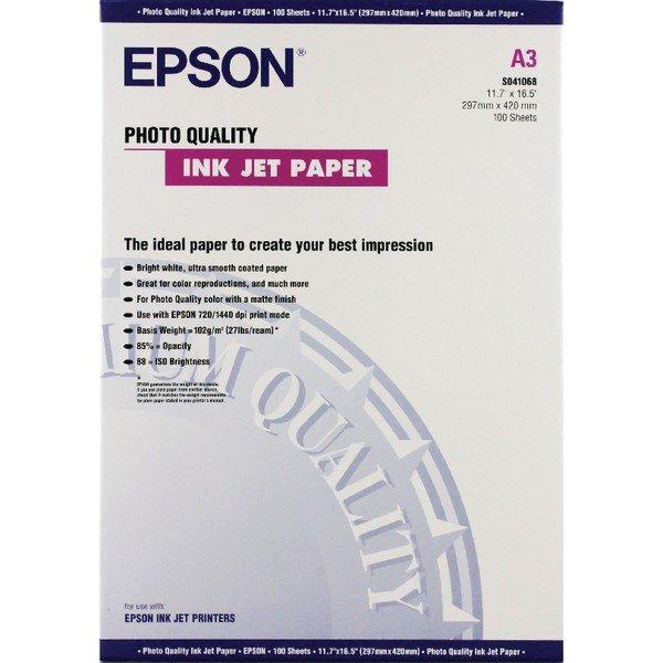 Epson Photo Quality Inkjet Paper A3