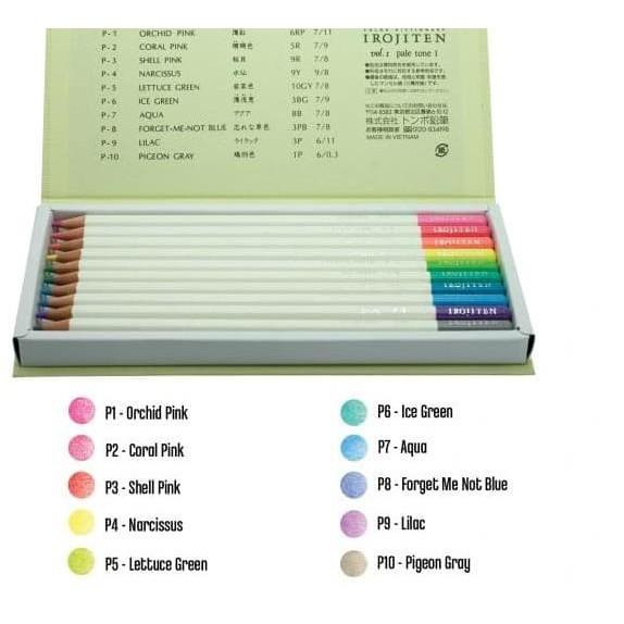 Colored Pencil IROJITEN 30 pcs. Set 1st issue