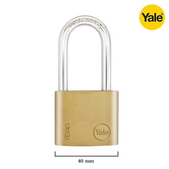 Yale Essential YE1/40 - 40mm Long Kunci Gembok