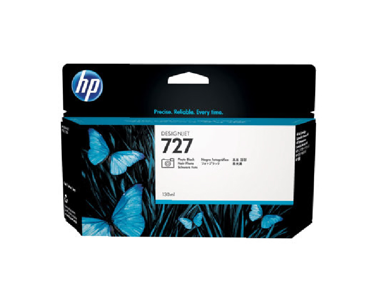 HP 727 Designjet Ink Cartridge 130 ml Photo Black