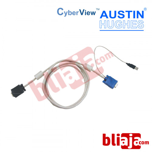 AUSTIN HUGHES CYBERVIEW CB-6 feet KVM Cable USB type