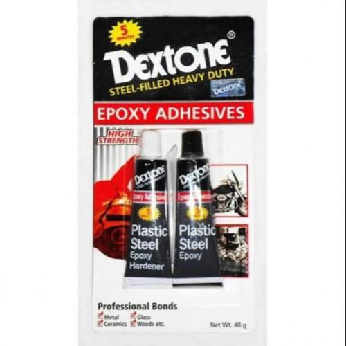 Dextone 5 Menit - 12gr Lem Plastic Steel