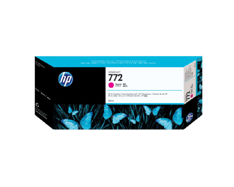 HP 772 Designjet Ink Cartridge - 300 ml Magenta